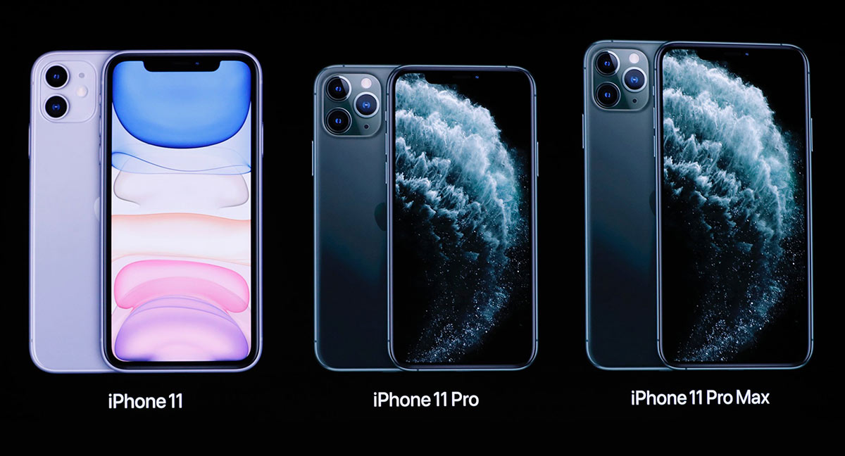iPhone 11, iPhone 11 Pro and iPhone 11 Pro Max | Photo: Business Insider