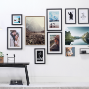 Gallery photo wall | Photo: CEWE Photoworld