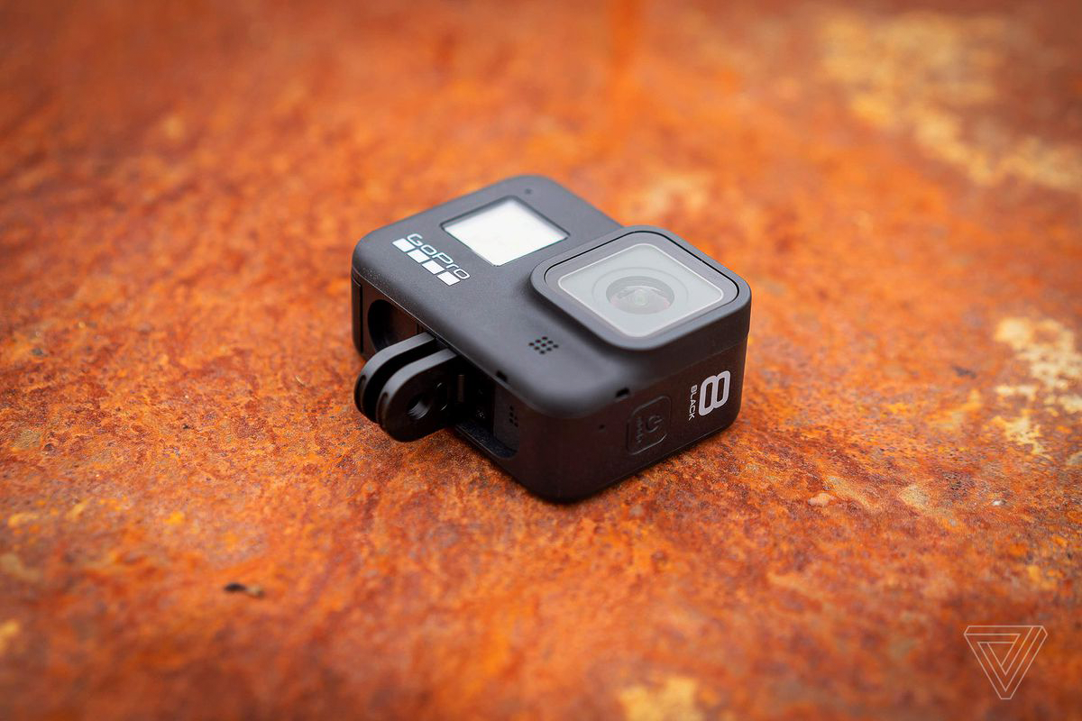 GoPro Hero 8 Black | Photo: Photo by Brent Rose for The Verge