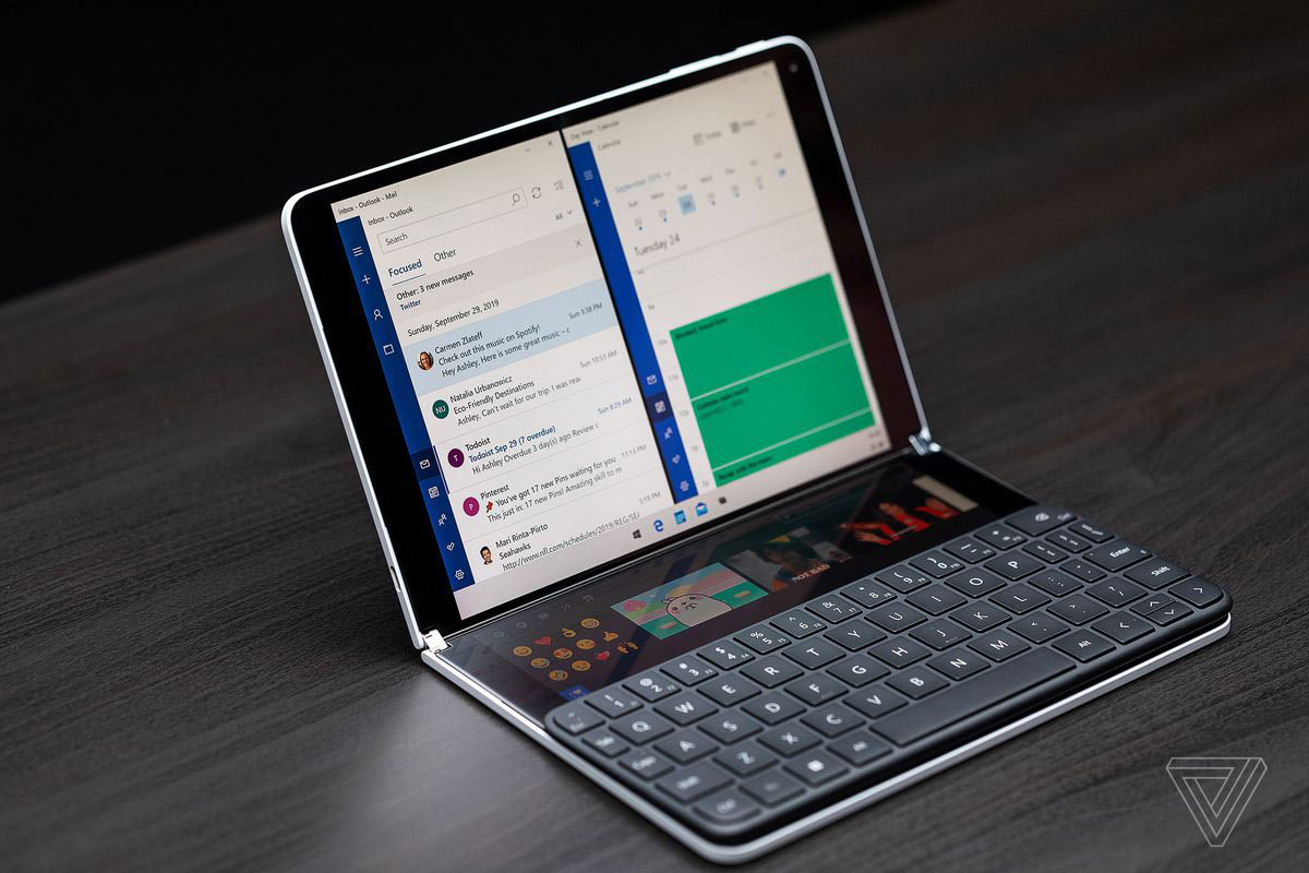 Microsoft Surface Neo | Photo: The Verge