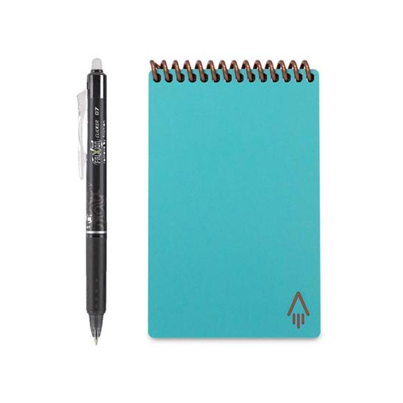 Rocketbook Everlast Smart Re-usable Notebook Mini - Neptune Teal