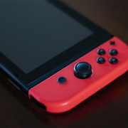 Black Nintendo Switch | Photo: Matteo Grobberio via Unsplash