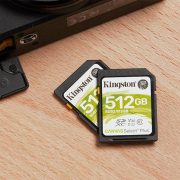 Kingston Canvas Select Plus 512GB SD Card | Photo: Kingston