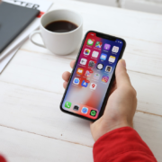 Working on iPhoneX | Photo: Yura Fresh via Unsplash