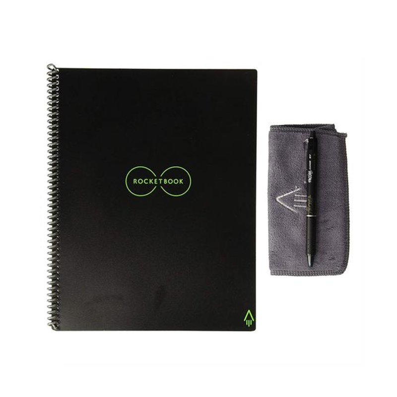 Rocketbook Everlast Smart Re-usable Notebook / Journal A4 - Infinity Black