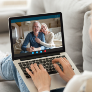 Young girl on video call to family | Photo: Shutterstock