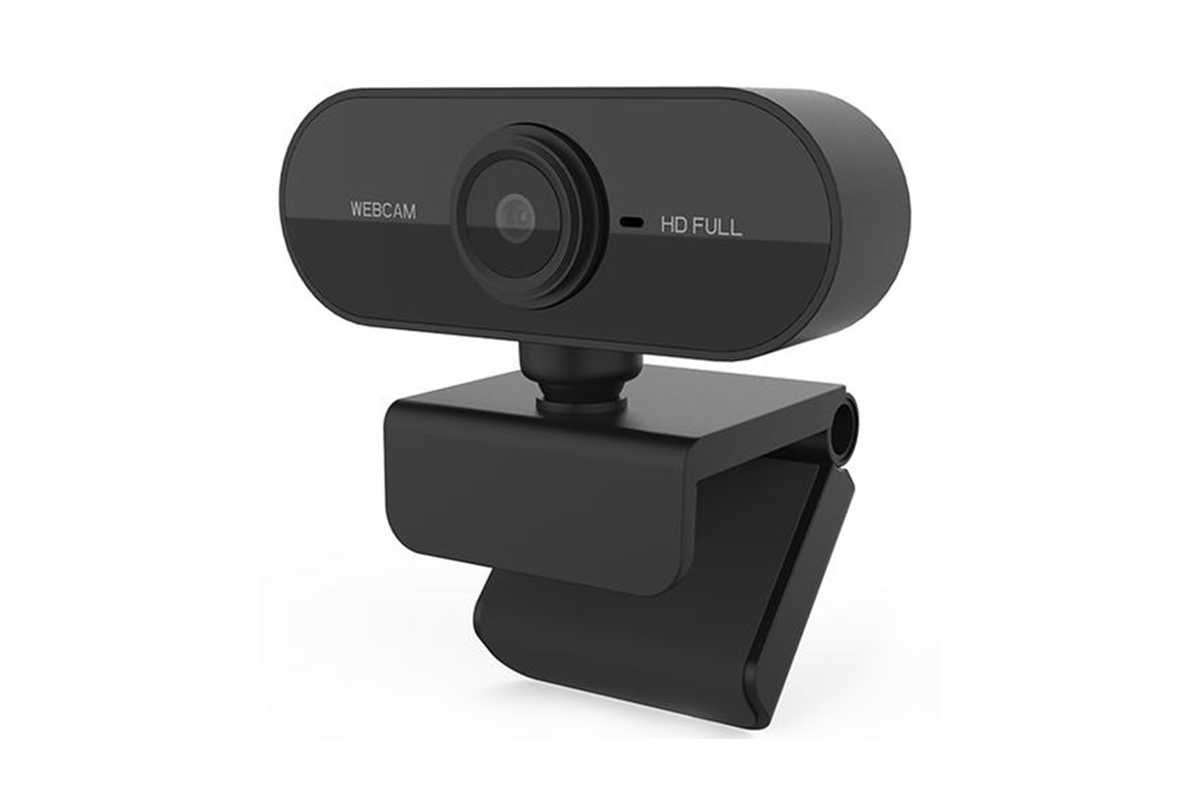 Full HD USB Plug & Play Webcam - Black