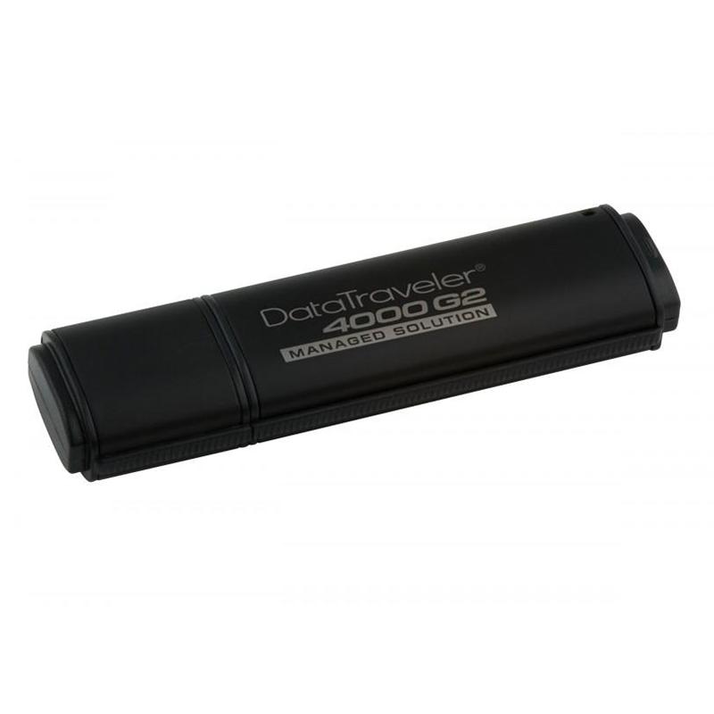 Kingston DataTraveler 4000 4GB Standard USB Flash Drive 256-bit Hardware Encryption