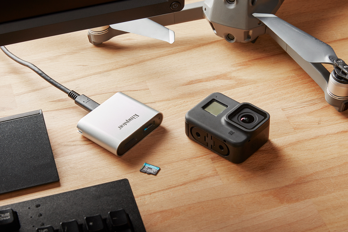 Kingston Workflow Station and Readers | Photo: Kingston Technology