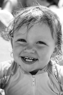 Smile... it is the key that unlocks everybody's heart