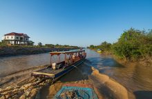 Boat trip to visit Tonle Sap Lake