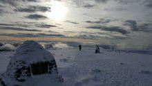 Winter climb on Ben Nevis