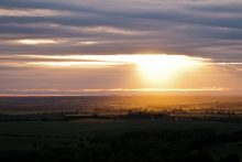Sun over the Chilterns