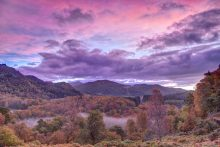 Tummel valley sunrise