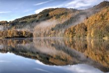 Loch Tummel reflections