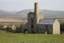 Abandoned Cornish Tin Mine