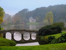 late Autumn in Stourhead