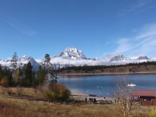 Grand Teton in Autumn