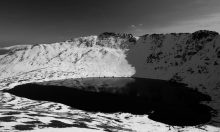 Helvellyn, Striding Edge and red Tarn