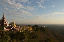 View from Mandalay Mountain