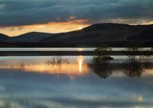 Galloway Sunset and refections